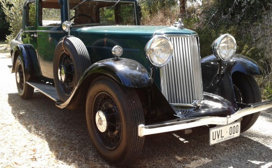 1933 Armstrong Siddeley 20HP Short Chassis Saloon