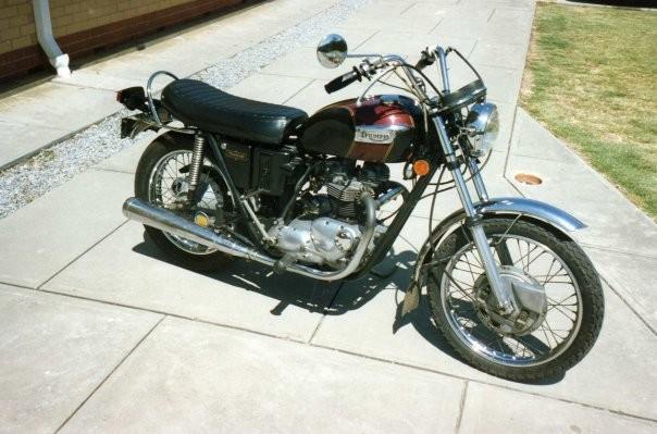 1971 Triumph 650 Tiger