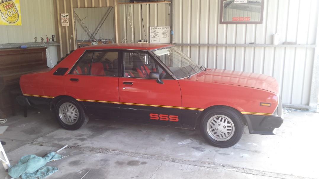 1982 Datsun Stanza SSS