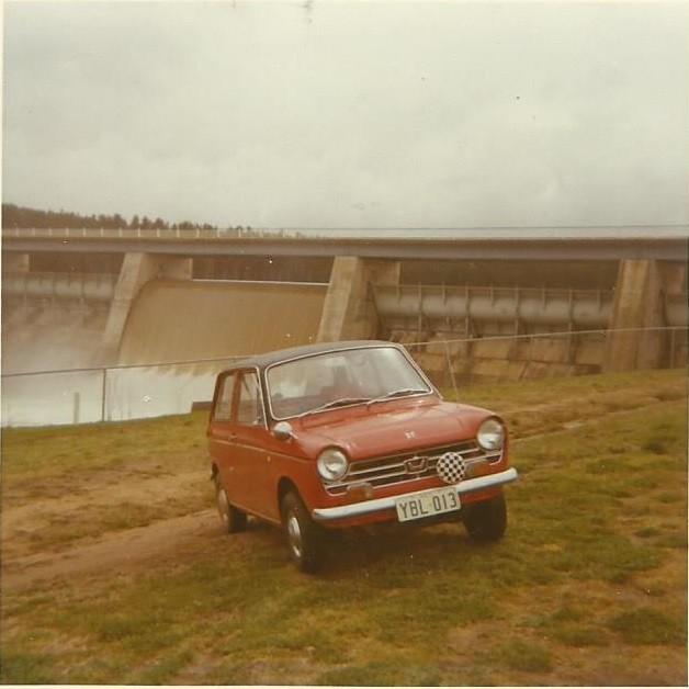 1969 Honda Scamp N360 Deluxe