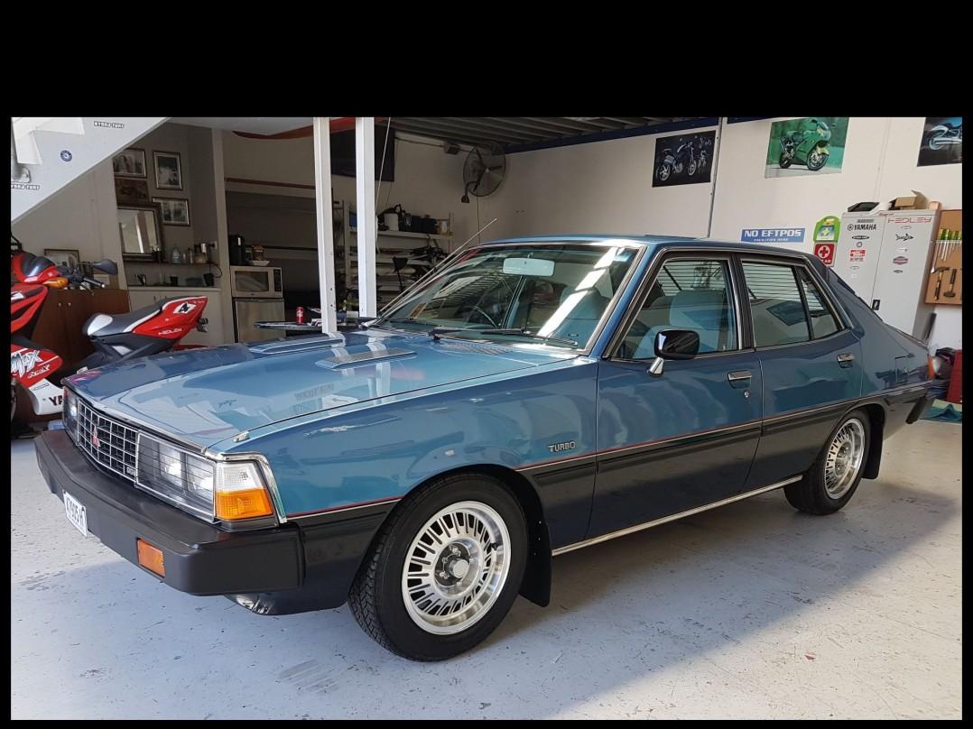 1981 Mitsubishi SIGMA TURBO