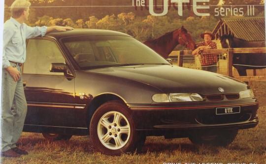 1999 Holden vs s series III ute.
