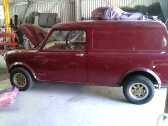 1963 morris mini traveller (van)