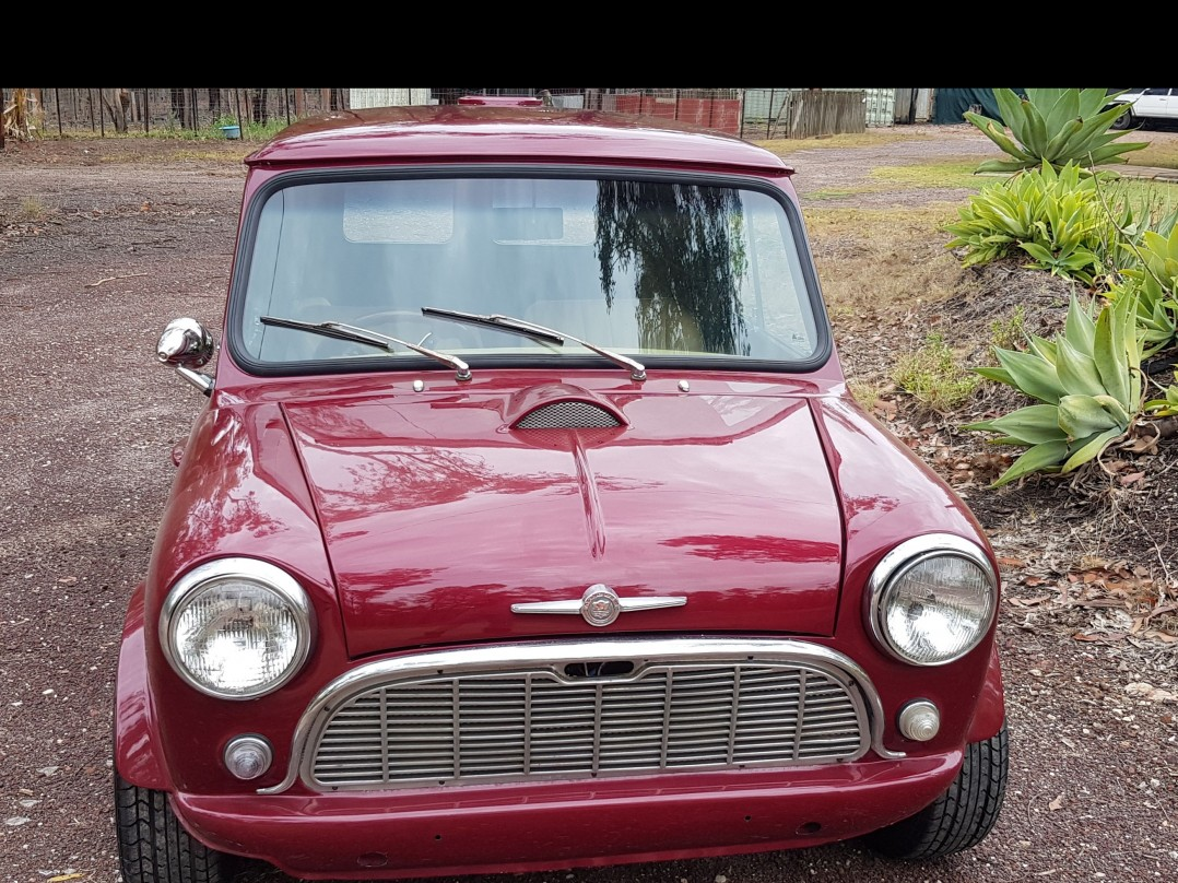 1963 Mini morris van