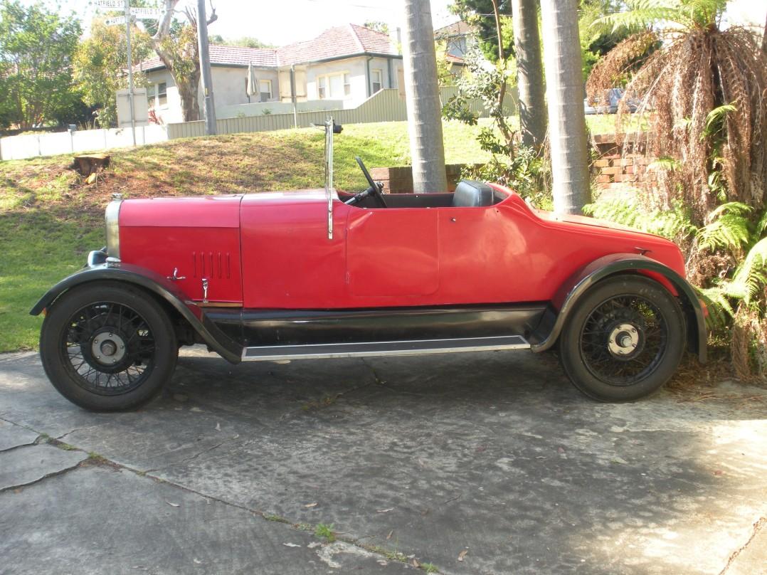 1926 Alvis 12/50 TE