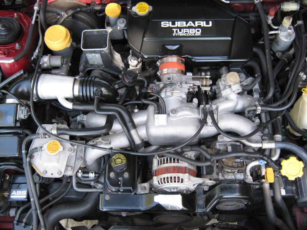 1993 Subaru RS Turbo