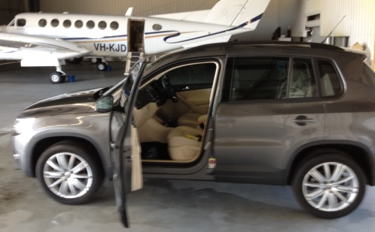 2011 Volkswagen Tiguan TDI 4 Motion