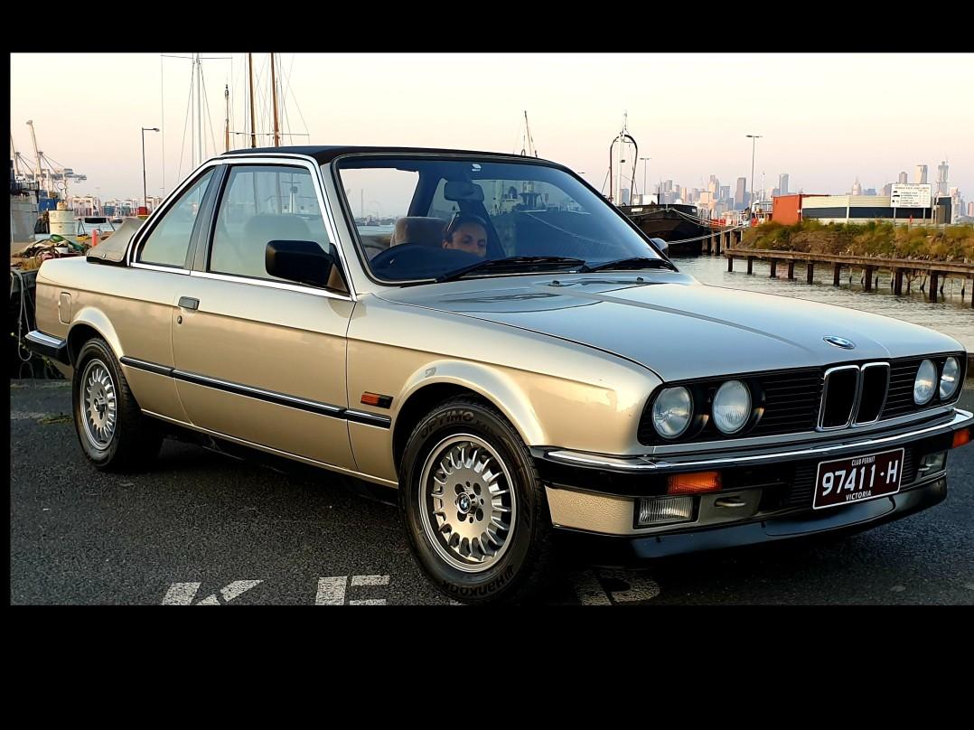 1986 BMW E30 325E TC BAUR