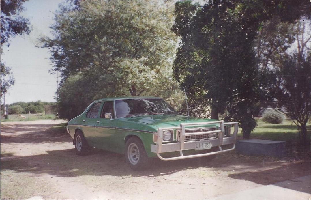 1977 Holden HZ Kingswood SL