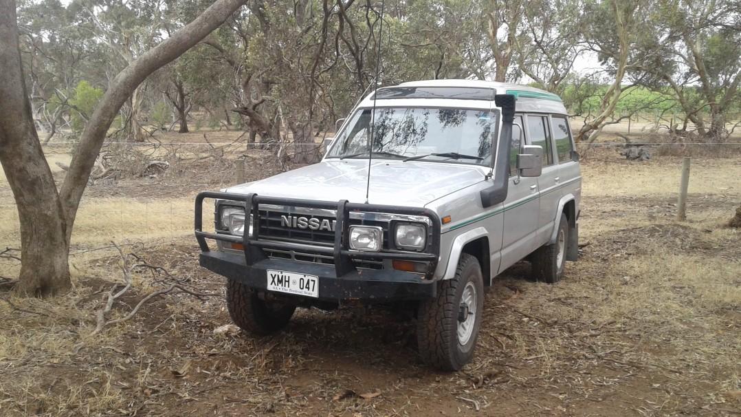 1984 Nissan MK Patrol Turbo Diesel