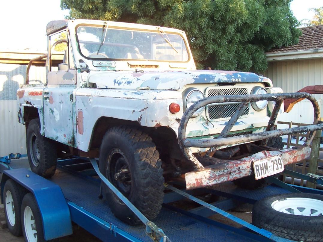 1964 Nissan G60 Patrol short wheel base