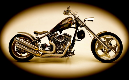 2009 Harley-Davidson custom hardtail chopper