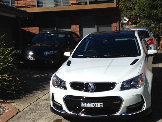 2016 Holden SSV Redline