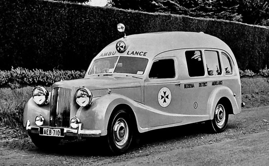 The Austin A125 Sheerline.