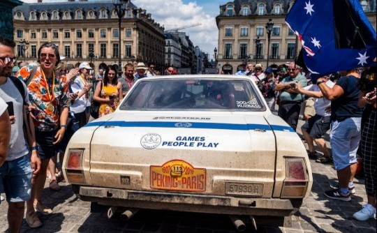 1974 Leyland P76 of Crown and Bryson wins 2019 Peking to Paris Rally.