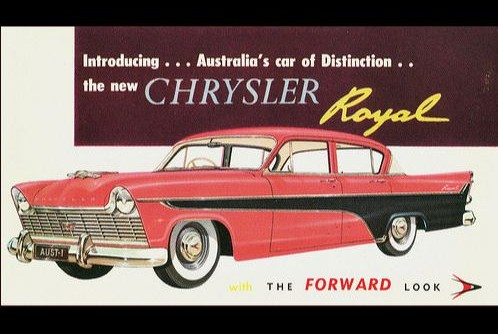 Who remembers the Chrysler Royal?