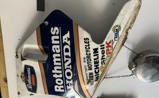 Rothmans side panel
