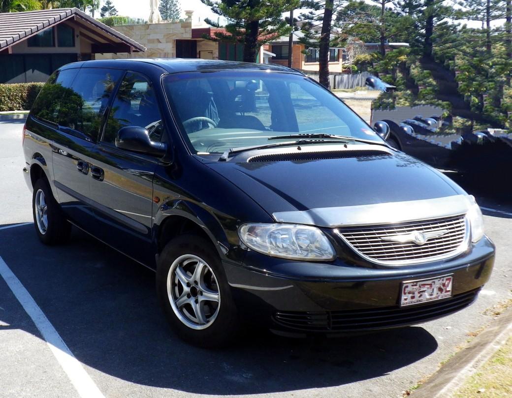 2002 Chrysler GRAND VOYAGER SE