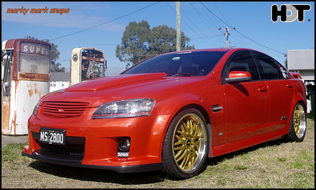 2007 Holden commodore ssv
