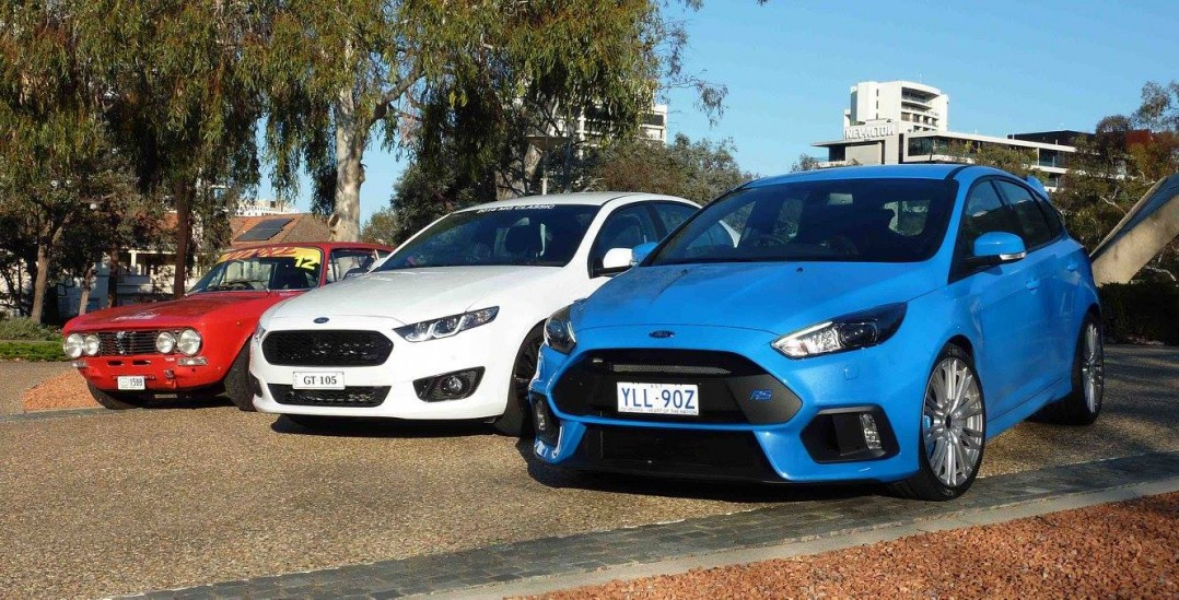 2016 Ford Focus RS Mk3