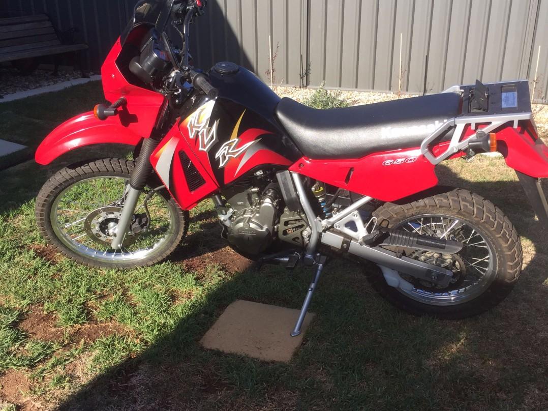 2005 Kawasaki 651cc KLR650 (KL650)