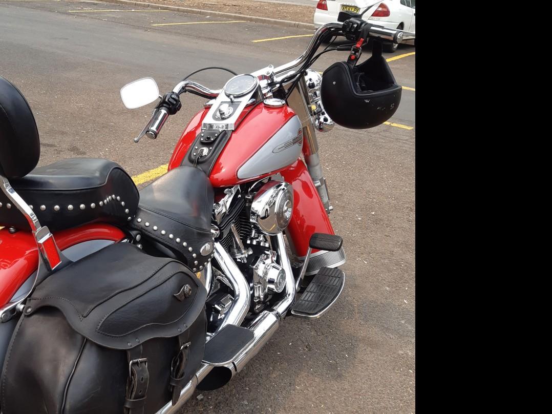 2002 Harley-Davidson 1450cc FLSTCI HERITAGE S/TAIL CLASSIC
