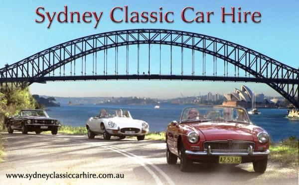 Sydney Classic Car Hire Logo