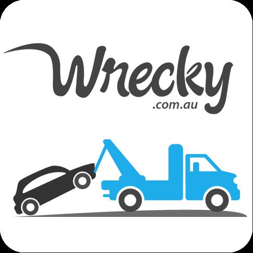 Wrecky Car Wreckers Logo