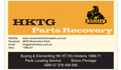 HKTG Parts Recovery