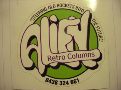 Alien Retro Columns